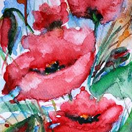Poppies by Vesna Martinjak