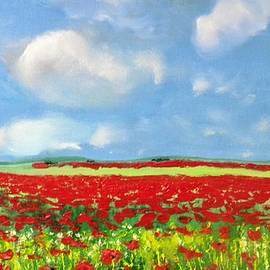 Poppy Field by Igor Kotnik