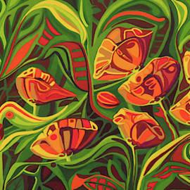 Prancing Poppies by Pam Veitenheimer