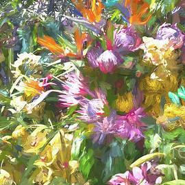 Riot of Flowers by Lynn Bolt