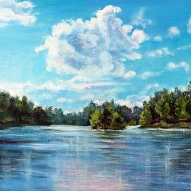 River Drava by Vesna Martinjak