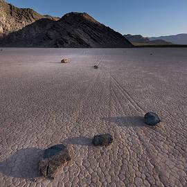 Rocks On The Racetrack Death Valley by Steve Gadomski