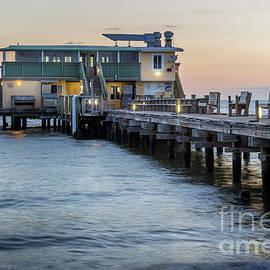 Rod and Reel Pier, Anna Maria Island, Florida at Sunrise by Liesl Walsh
