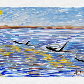 Sea Waves by Anand Swaroop Manchiraju
