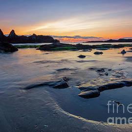 Seal Rock Sundown by Mike Dawson
