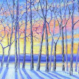 Snowy Sunset by Tricia Lesky