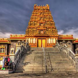 Sri Guruvayoorappan Temple by Geraldine Scull