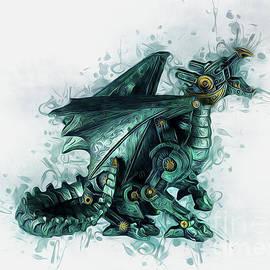 Steampunk Dragon by Ian Mitchell