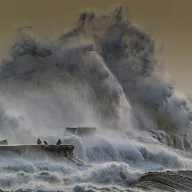 Storm Ciara at Porthcawl by Stephen Jenkins