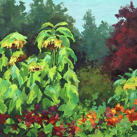 Sunflower Garden by Karen Ilari