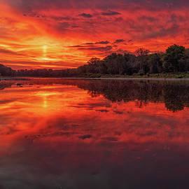 Sunrise on the Maumee River by Jamison Moosman