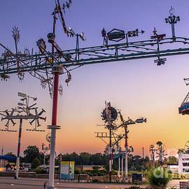 Sunset @ Vollis Simpson Park by Darrell Foster