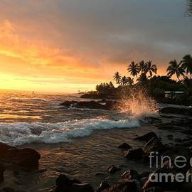 Sunset Reflections by Karen Nicholson