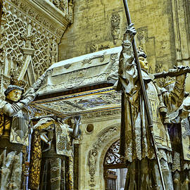 The Cathedral of Seville # 17 by Allen Beatty