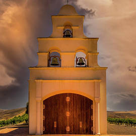 The Chapel On The Hill by Mitch Shindelbower