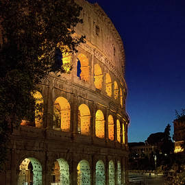 the Colosseum by Andrew Cottrill