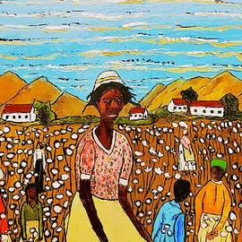 The Cotton  harvest by Yolanda Terrell