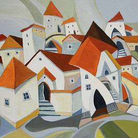 The Old Town by Aniko Hencz