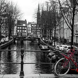 The Red Bike by Norma Brandsberg