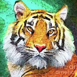 Tiger Face by Tina LeCour