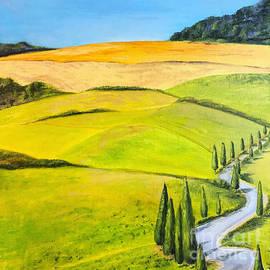 Toscana, Italy oil painting by Svetlana Shavrina