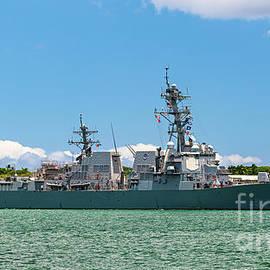 USS Michael Murphy Arleigh Burke Destroyer DDG 112 by Phillip Espinasse