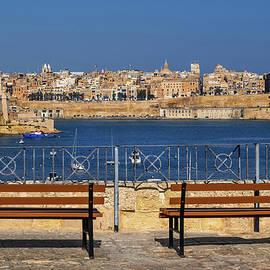 Valletta City And Grand Harbour In Malta by Artur Bogacki