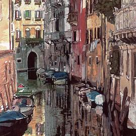 Venetian Reflection by Rosi Robinson