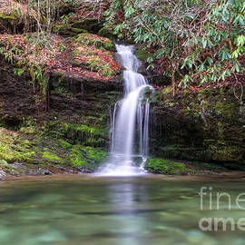 Waterfall On Little River by Phil Perkins