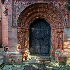 Watts chapel door