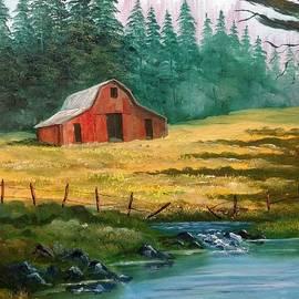 Western Barn by Lee Piper