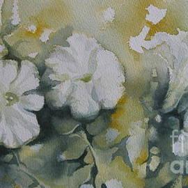 White petunias by Elena Oleniuc
