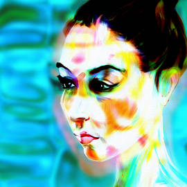 Woman In The Water by Michael Kallstrom