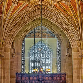 Yale University Sterling Library by Susan Candelario