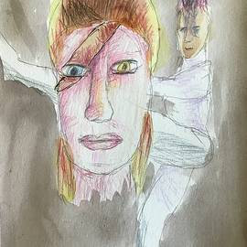 Ziggy Stardust  #2 by Ray Steele