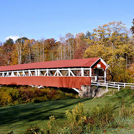 1830 Barronvalle Covered Bridge 2 by John Trommer