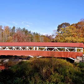 1830 Barronvalle Covered Bridge 3 by John Trommer