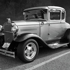 1930 Ford Model A Tudor  by John Bartelt