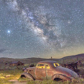 1937 Chevy Coupe at Bodie Ghost Town by Scott Eriksen