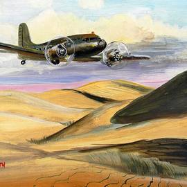 1940s Plane  by Eugene and Kathleen Smith