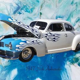 1947 Nash Ambassador  by Anne Sands