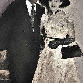 1950s Congratulations To The Happy Couple by Joan Stratton