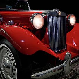1952 MG TD - Classic Car - Automotive Art by Jason Politte