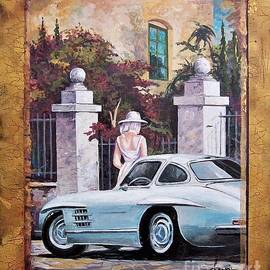 1954 Mercedes Benz sl 300 Gullwing by Sinisa Saratlic