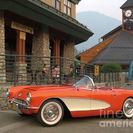 1956 C1 Chevrolet Corvette by PROMedias Obray