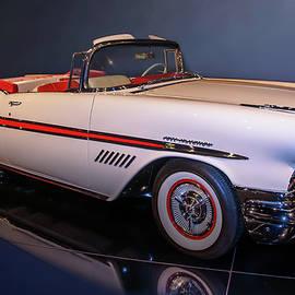 1957 Pontiac Bonneville Convertible by John Bartelt