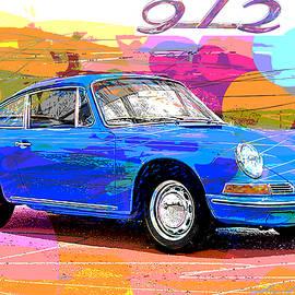 1966 Porsche 912 by David Lloyd Glover