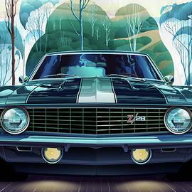 1969 Camaro Z/28 Fantasy by Garth Glazier