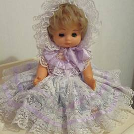 1970s Doll by Lesley Evered