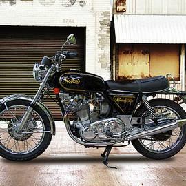 1973 Norton Commander 850 Motorcycle